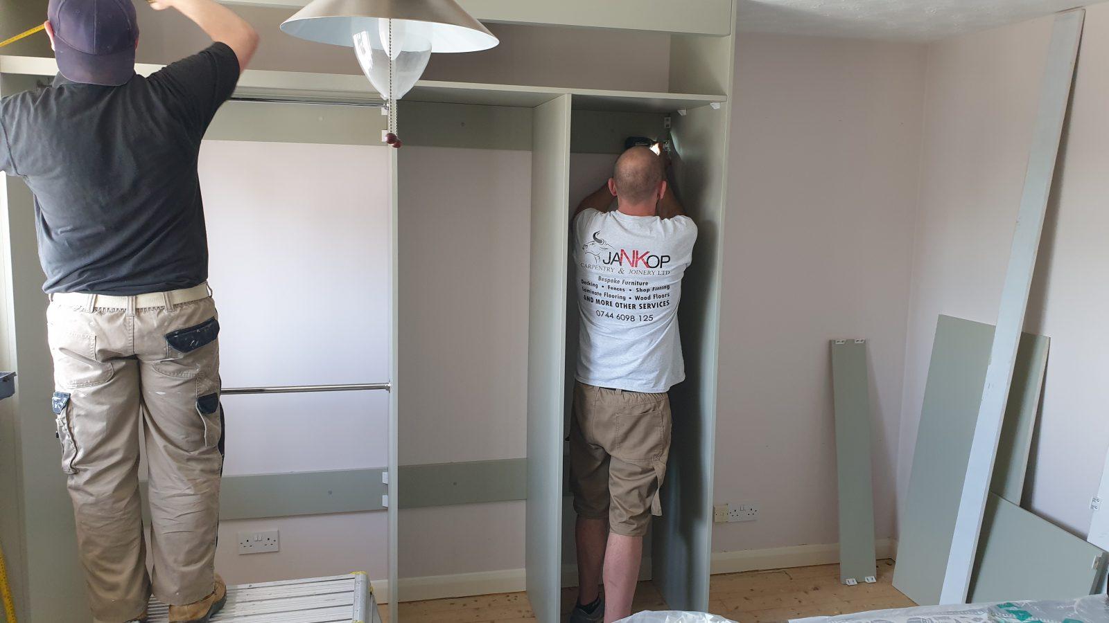 Jankop Team Building Bespoke Wardrobe
