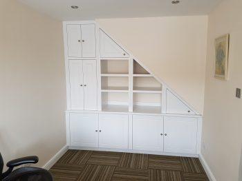 Under Stairs Storage Solution 1