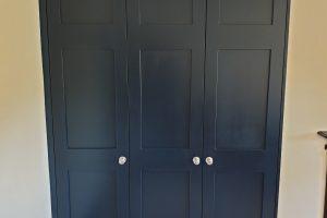 Custom Blue Storage units 1