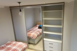 Slotted Storage And Wardrobe Solution