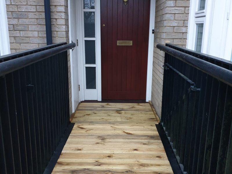 Doorway Decking Replacement