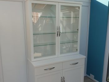 Bespoke Glassed Storage Unit 1