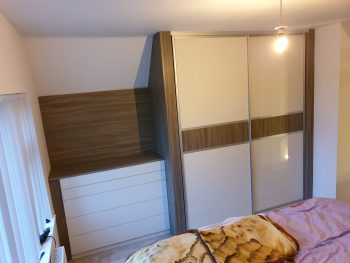 Curved Wall Storage And Wardrobe 3