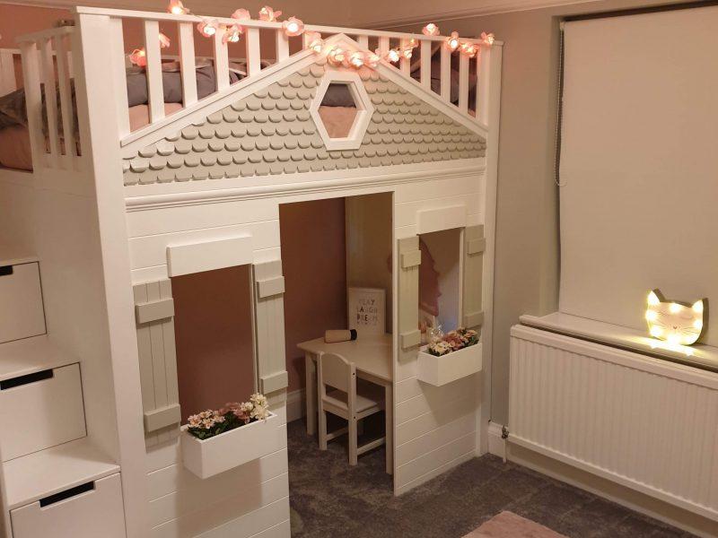 Fairy Tale Castle Bed